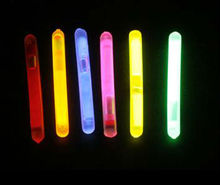 Dry Powder Fishing glow stick in the dark,mini glow stick