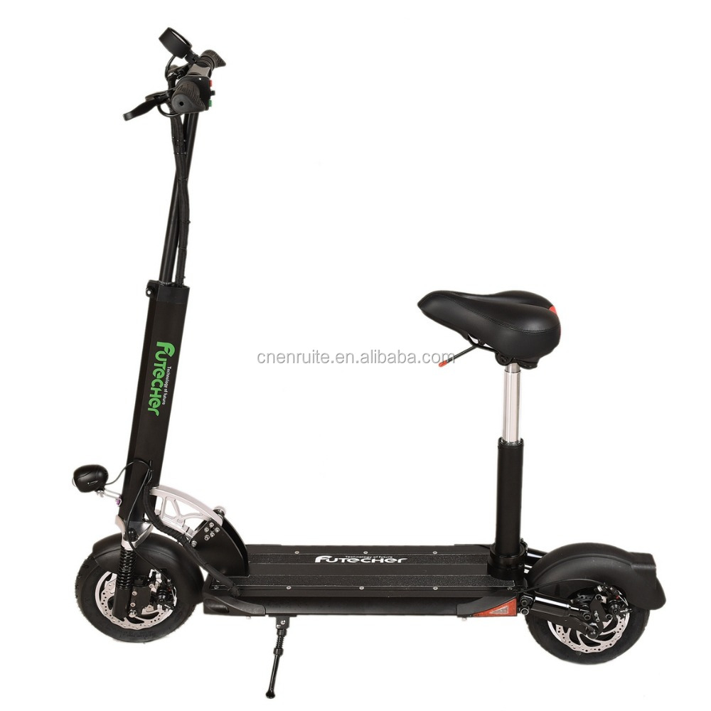 Portable CE&ROHS Smart Kick Electric Scooter Parts Moped front and Rear Double suspension Specification Frame