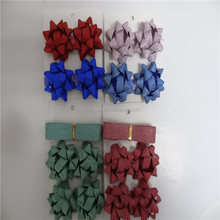 New arrival fashion delicate christmas mini gift bows with low price