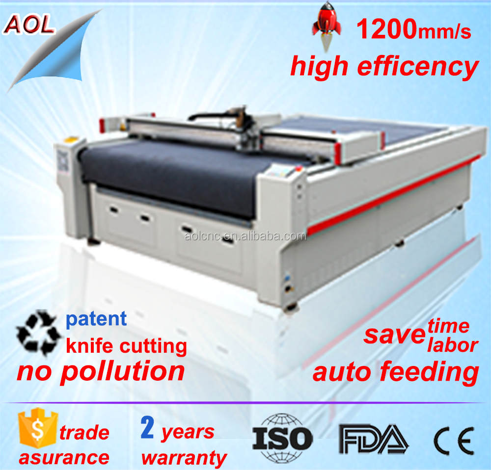 China Jinan Digital Cutting Machine For Sampling Making With Knife And Blades