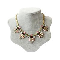 High quality fashion rhinestone western necklace jewelry