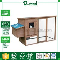 High Standard Personalized Wood Double Chicken Coop