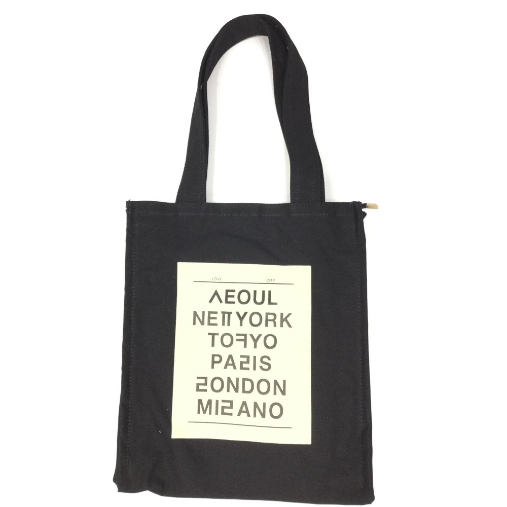 KOREAN STYLE CANVAS TOTE BAG