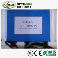 Lifepo4 72V electric boat/ship battery pack