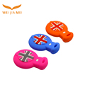 Colorful silicone dustproof car key case