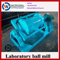 horizontal tube ball mill ,laboratory grinding equipment with small capacity