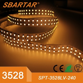 3528 double rows LED strip light high brightness wholesale