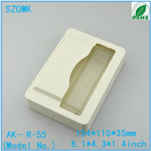 abs plastic box IC card reader enclosure for access control system by SZOMK 154*110*35mm