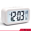 LCD screened snooze light alarm clock with big screen,auto chiming