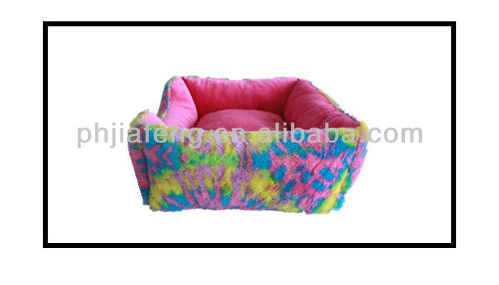plush pet bed for dog