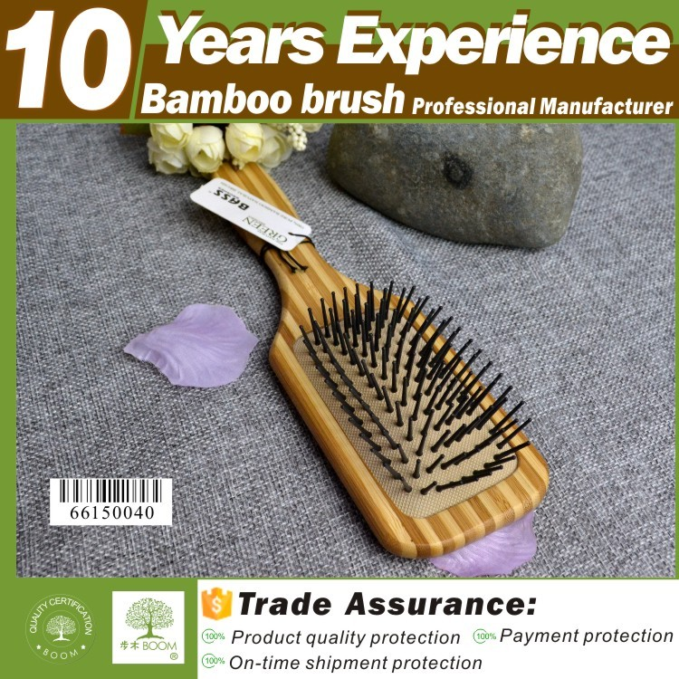 10 years experience personalized hard bristle hair brush factory , Eco-Friendly brush hair