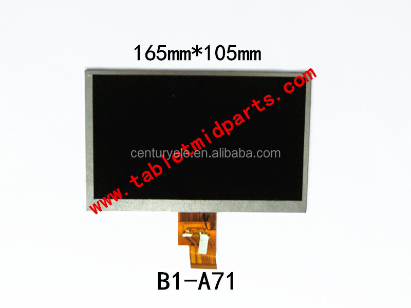 Tablet 7.0 inch 165mm*105mm HD LCD display EJ070NA-01J 32001099 for ACER B1-A71