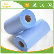 Waterproof/ water absorbent breathable medical and hygiene ss, sms pp spunbund nonwoven fabric for baby, adult diapper, wet wipe