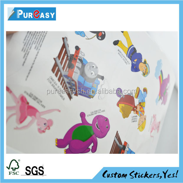 Custom transparent small animal wall stickers