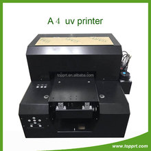 Customized printing A4 Size Digital UV Flatbed Printer