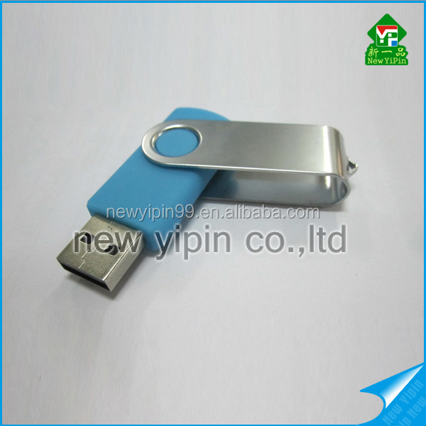 2016 New Yipin hot sale colorful plastic swivel USB flash drive cheapest usb flash drive
