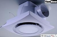 Bathroom Kitchen Exhaust Fan Ventilator round Led Light