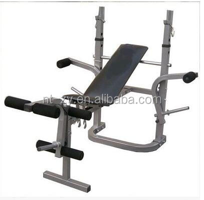 High Quality Gym Equipment Kids Weight Bench Barbell Stand China Weight Bench Supplier