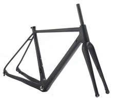2017 New arrival Chinese Bike newest CX disc brake carbon cyclocross frame