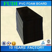 2016 black solid high density plastic panels, pvc foam sheets