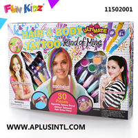 Kids Craft DIY Kind of Mine Hair&Body Tattoo Kits