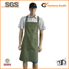 green embroidery bakery uniform apron