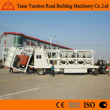 Mobile Concrete Batching Plant 35m3/h