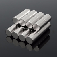 Hot Sale N50 Super Strong Round Cylinder Magnets 10mm x 15mm Rare Earth Neodymium Magnet