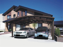 Small size pergola carport for car shelter