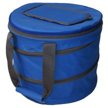 Insulated Tote Bag Collapsible Picnic Basket Blue Ice cooler bag for frozen food