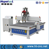 High precision multi head cnc router two heads cnc router spindle motor