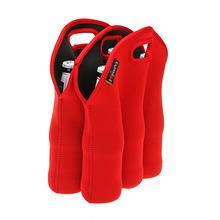 6 pack neoprene wine bottle bag,beer bottle bag,beer carry bag factory wholesale