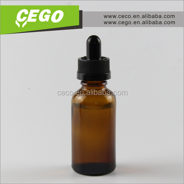 Wholesale and hottest selling 10 ml amber glass empty euro dropper screw cap round bottle