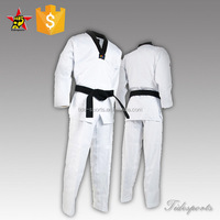 Korea traditional Taekwondo uniform manufacturer factory in China