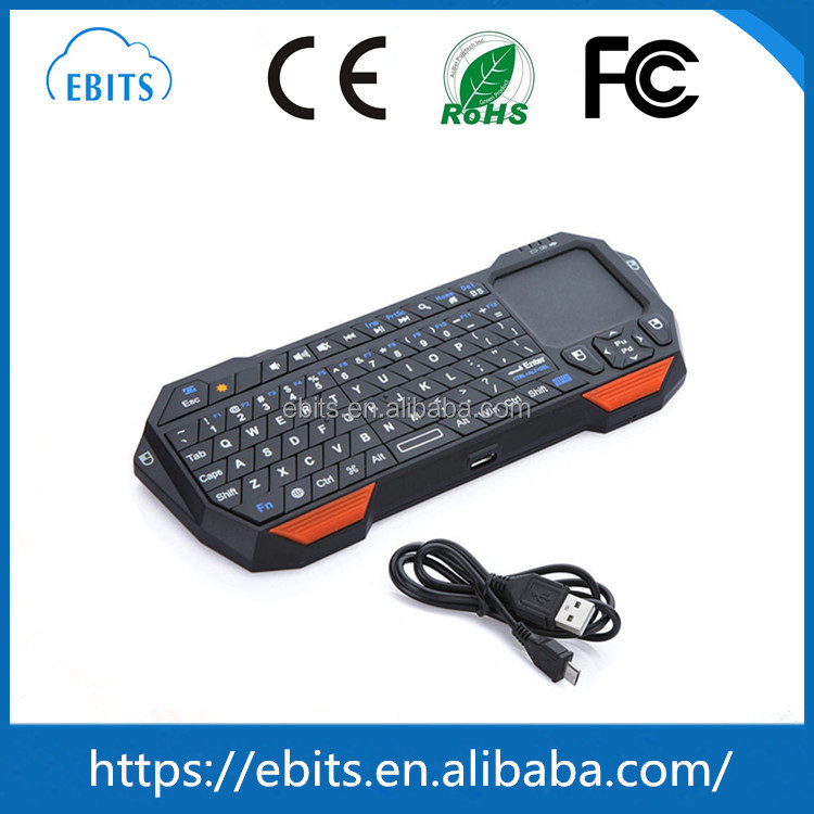 New Mini Gaming Keyboard Wireless Bluetooth 3.0 laptop Keyboard Computer Keyboard for Smart phone Android OS PC