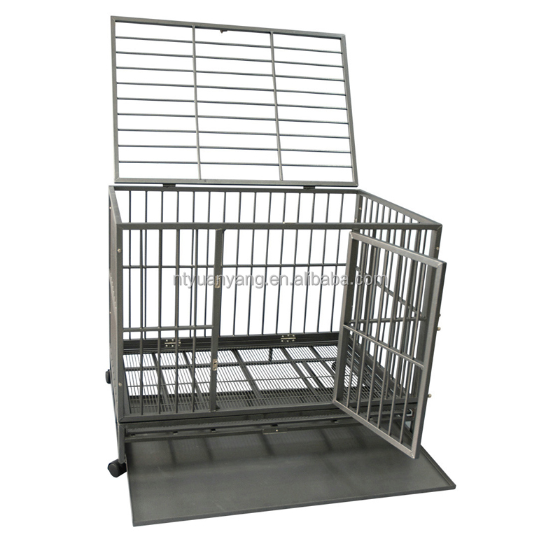 wholesale Heavy Duty Steel pet cage crate