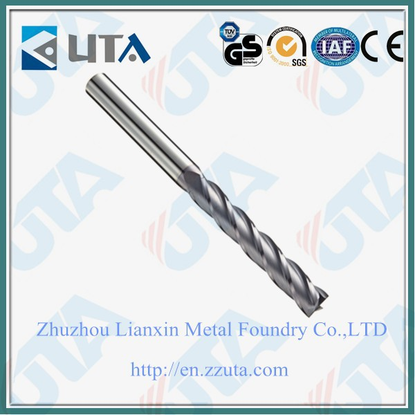Solid Carbide Square End Mill/Tungsten Carbide End Mill