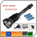 High power waterproof rechargeable torch x6 sst 90 2400lm strong led flashlight
