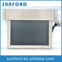 Roof mount car tft lcd flip down monitor