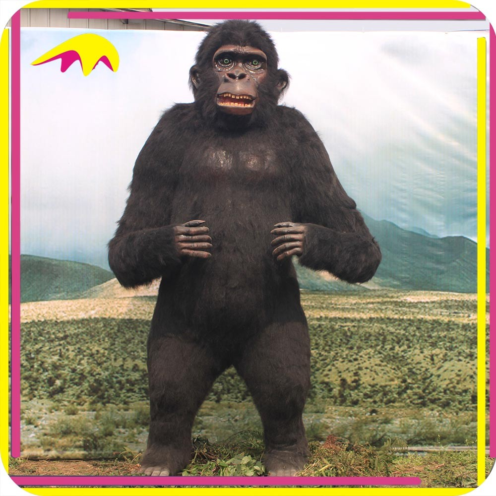 KANO3938 Real Animatronic Size Prehistoric World King Kong Model