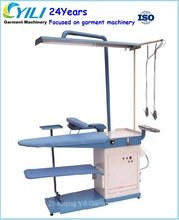 Laundry vacuum and blowing table /Stain cleaning and ironing table