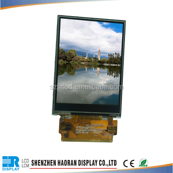 China factory produce 3.2 inch tft lcd display,240x320 pixels, ILI9341
