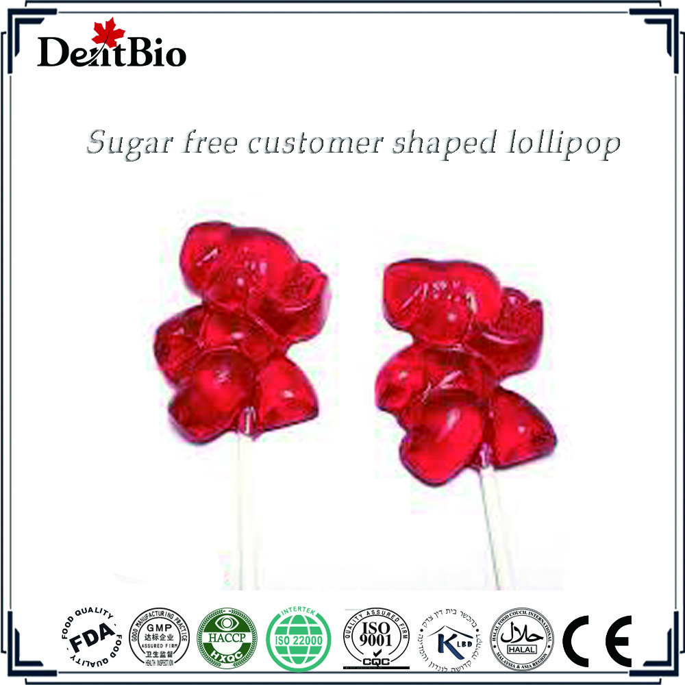 Mixed fruit lollipop candy sugar free candy lollipop