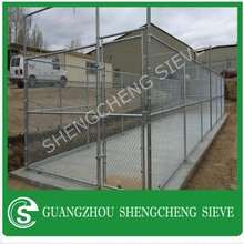Hot galvanized temp fencing for dog kennel outdoor fence