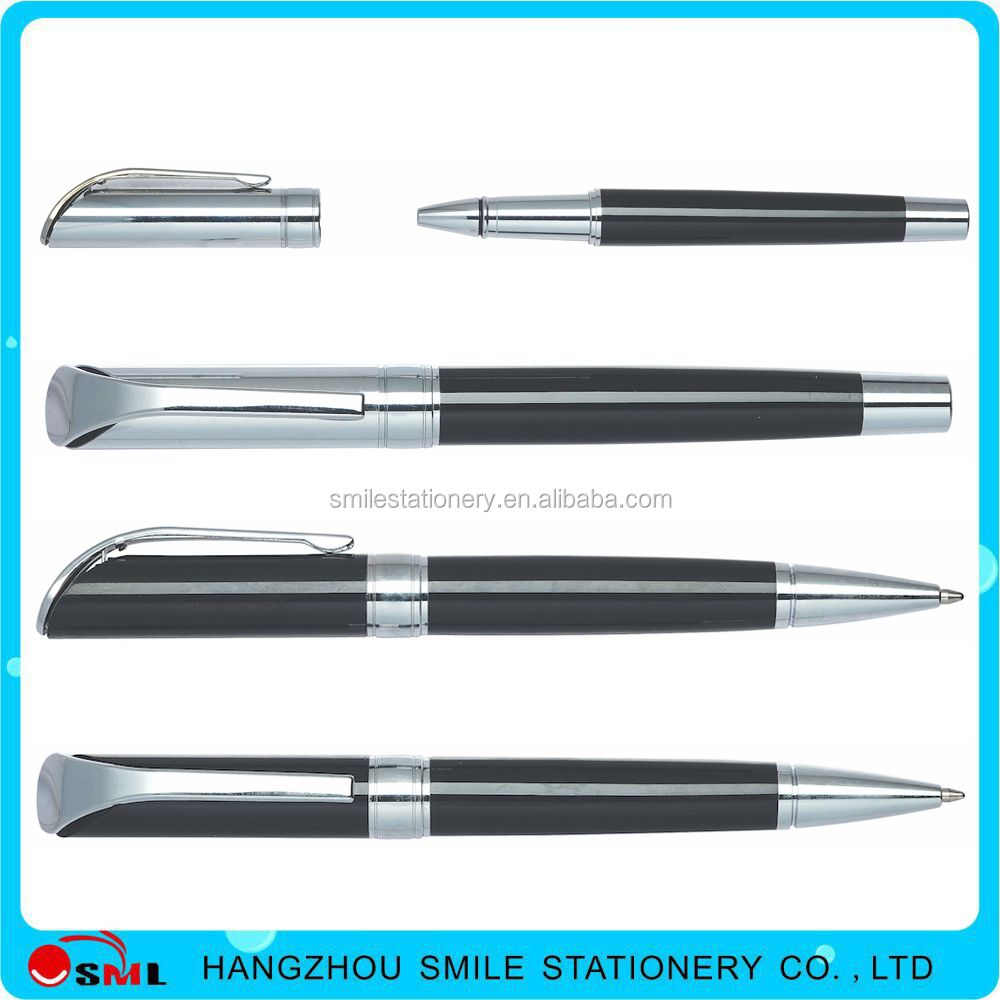 Logo printing Liquid dispensing free ink rollerball pen