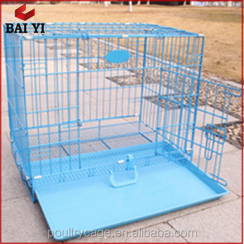 Large Steel Dog Cage And Aluminium Dog Kennel With Plastic Pallet