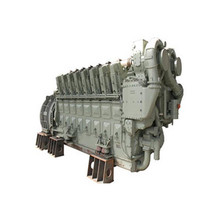 In stock CRRC diesel-nature gas dual fue engine 16V240