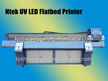UV LED digital flatbed Printer for PVC billboard with Good quality with High Speed