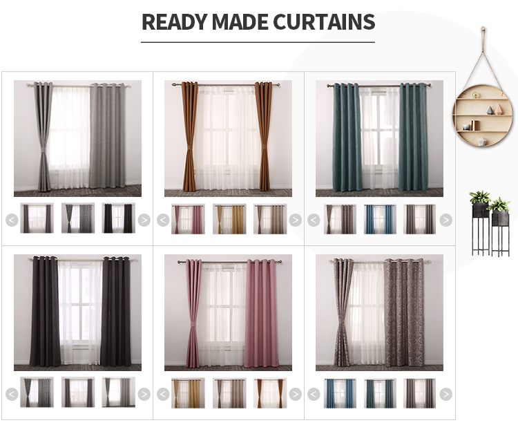 Moderne mode voir à travers semi-transparent vitre électrique automatique rideau motorisé