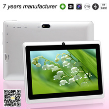 2014 china oem tablet 7 inch ATM 7021dual core android 4.2 mid support wifi and bluetooth 12 colors tablet free delivery